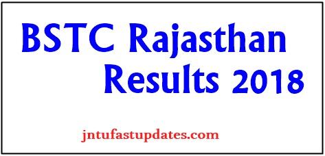 Rajasthan BSTC Result 2018
