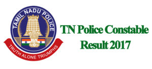 TN Police Constable Results 2017
