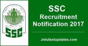 SSC Recruitment 2017: Scientific Assistant Notification for 1102 jobs in Met Department