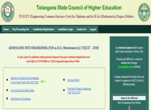 TS ECET Final Phase Seat Allotment Results 2018 Released – Telangana ECET Allotment order @ tsecet.nic.in
