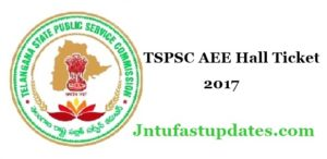 TSPSC AEE Hall Ticket 2018 Download – Telangana AEE Civil Exam Admit Card @ tspsc.gov.in