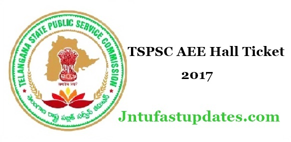 TSPSC AEE Hall Ticket 2017