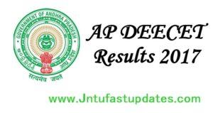 AP DEECET Results 2017 Released – Download Merit List, Rank Card, Cutoff Marks at deecetap.cgg.gov.in
