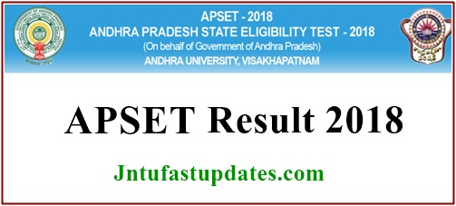 APSET Results 2018