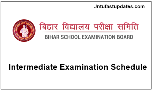 Bihar Intermediate Time Table 2018