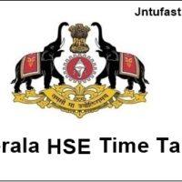 Kerala-hse-time-table-2018