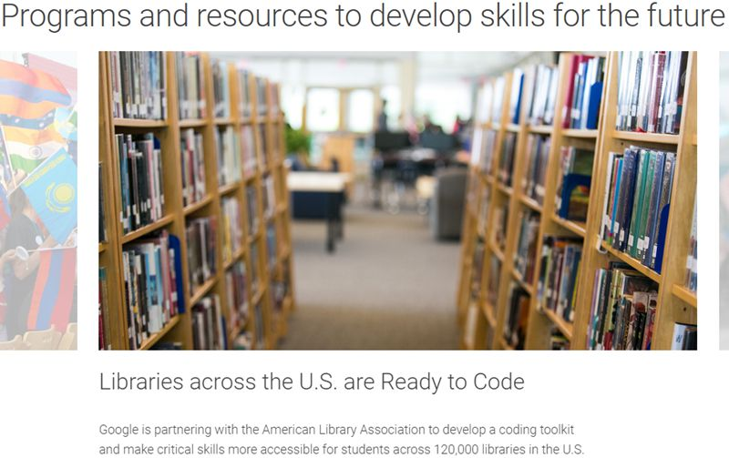 Programs and resources to develop skills for the future