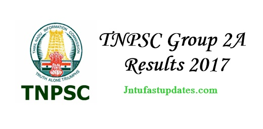 TNPSC Group 2A Results 2017