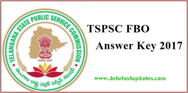 TSPSC Forest Beat Officer Answer Key 2017