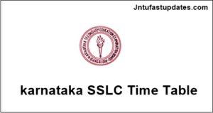 Karnataka SSLC Time Table 2018 Download – KSEEB 10th Class Date Sheet at kseeb.kar.nic.in