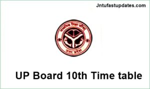 UP Board High School (10th) Time Table 2018 Download – Uttar Pradesh 10th Date Sheet Scheme PDF