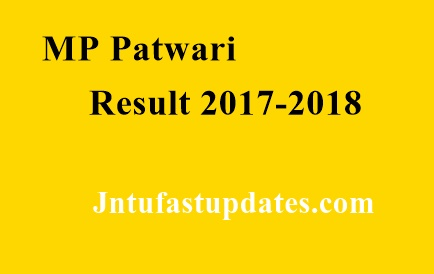 MP Patwari Result 2017