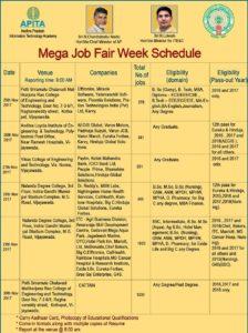 Mega Job Fair_schedule