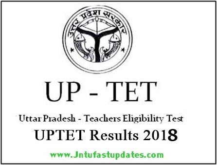 UPTET Result 2018