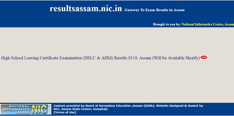 Assam-HSLC-Result-2018