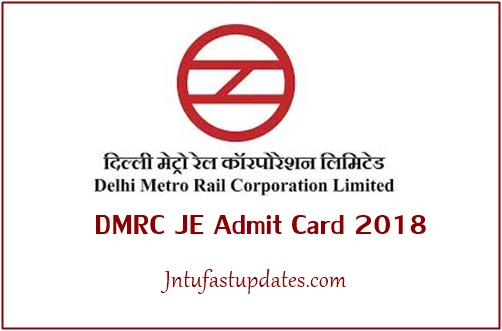 DMRC Admit Card 2018 Download