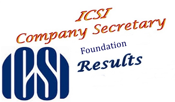 ICSI CS Foundation Result December 2017