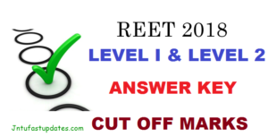 REET Answer Key 2018 Download – BSER Rajasthan TET Level 1 & 2 Answer Sheet, Cutoff Marks