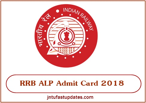 RRB ALP Admit Card 2018 Download