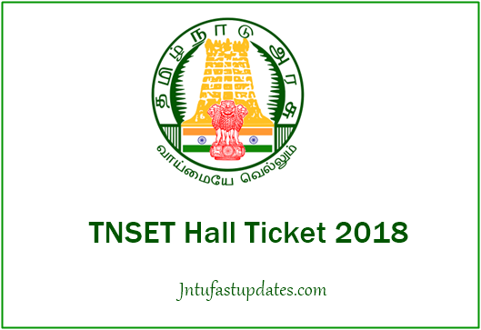 TNSET Hall Ticket 2018 Download
