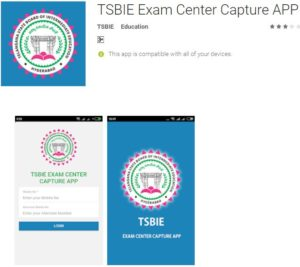 TSBIE Exam Center Locator APP Download For Android, iOS – Mobile Application for students to access Exam Centres