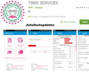 TSBIE Services APP Download For Android, iOS – Check Result, Exam Center Location, Student Services