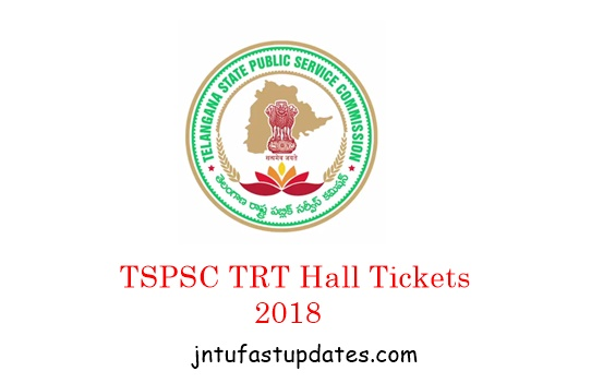 TS TRT Hall Tickets 2018 Download