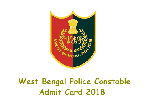 West Bengal Lady Constable Admit Card 2018