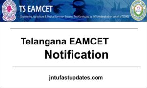TS EAMCET Notification 2019 Apply Online