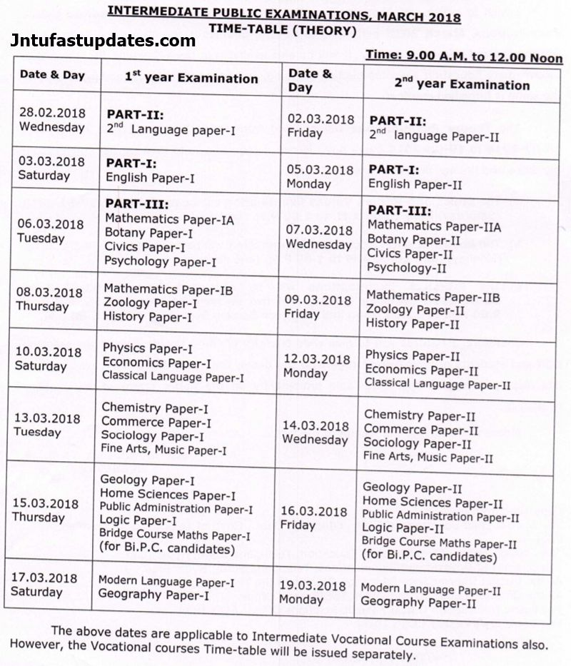 ts-inter-time-table-march-2018-revised
