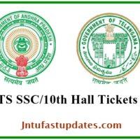AP/ TS SSC Hall Tickets 2018 Download