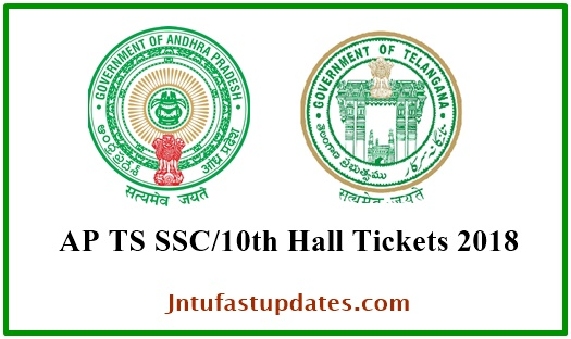 AP/ TS SSC Hall Tickets 2018 Download