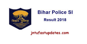Bihar Police SI Main Result 2018 Released – BPSSC Sub Inspector Result, Cutoff Marks, Merit List @ bpssc.bih.nic.in