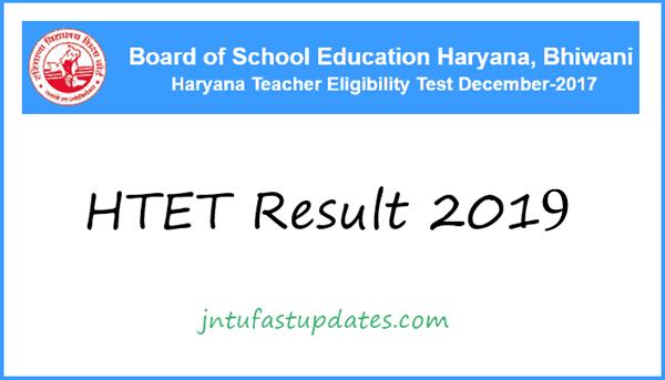 HTET Result 2019