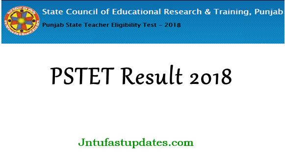 PSTET Results 2018 Released - Punjab TET Paper 1 & Paper 2