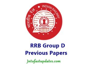 RRB Group D Previous Question Papers With Answer Keys Pdf Download 2018 – Eenadu, Sakshi