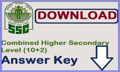 SSC CHSL Tier 1 Answer Key 2018