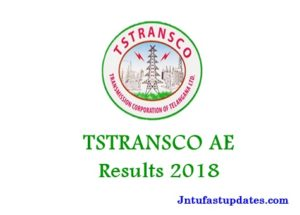 TSTRANSCO AE Results 2018 – Telangana Assistant Engineer Cutoff Marks, Merit List
