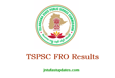 TSPSC FRO Results 2018