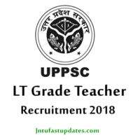 UPPSC LT Grade Teacher Recruitment 2018