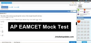 AP EAMCET Mock Test 2018 Free For Engg & Medical (Sakshi/ Eenadu Online Practice)