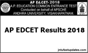 AP EDCET Results 2018 Manabadi Released – Download EdCET Rank Card @ sche.ap.gov.in