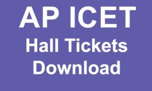 AP ICET 2019 Hall Ticket