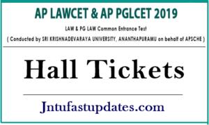 AP Lawcet Hall Tickets 2019