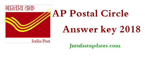 AP Postal Circle Postman/ Mail Guard Answer Key 2018