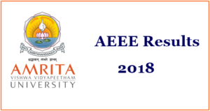 AEEE Results 2018/ Rank Card