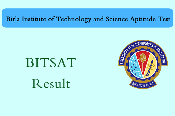 BITSAT Result 2018