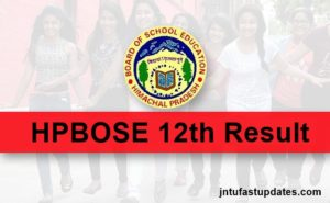 HPBOSE 12th Result 2018 Declared – Check HP Board +2 Results Name Wise @ hpbose.org