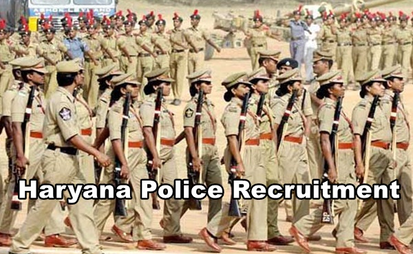 Haryana Police Recruitment 2018