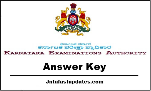 Kcet answer key 2018